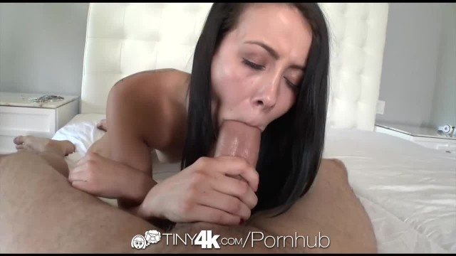 Tiny4K - Alaina Kristar's Pussy gets a Dripping Creampie
