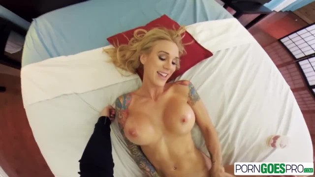 PornGoesPro Sarah Jessie is Punished by a Monster Cock, Big Boobs & Massage