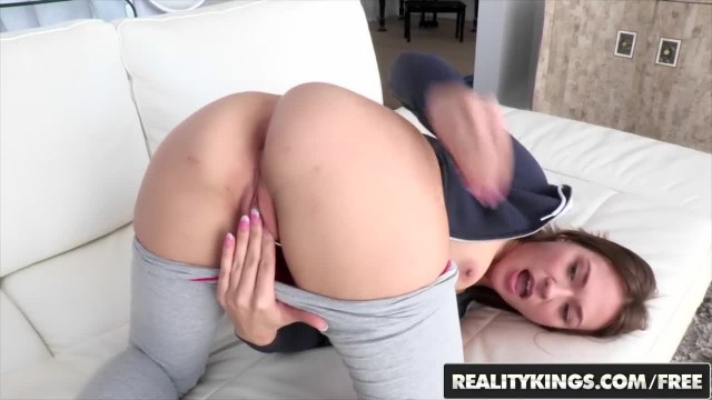 Reality Kings - Skinny Fit Teen Callie Calypso wants a Big Cock