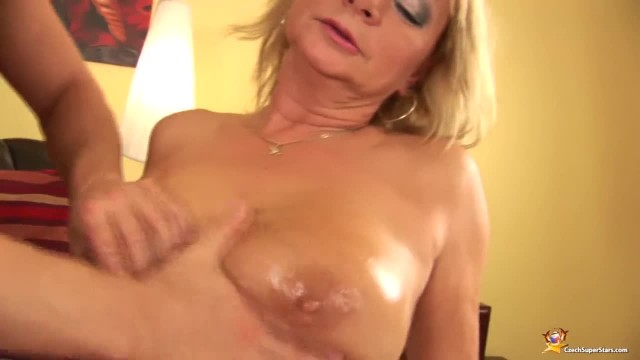 Chubby Oiled Stepmom Rough Fisted