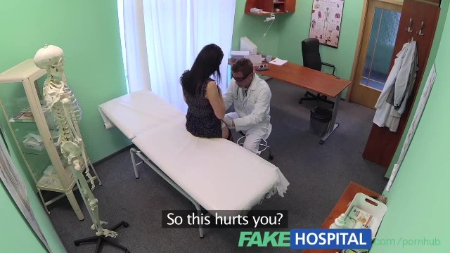 FakeHospital Tattooed Russian Offers her Pussy as Payment