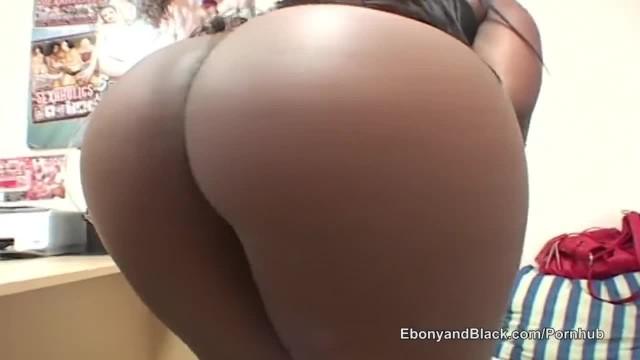 Ebony with Swollen Clit Fucks White Guy