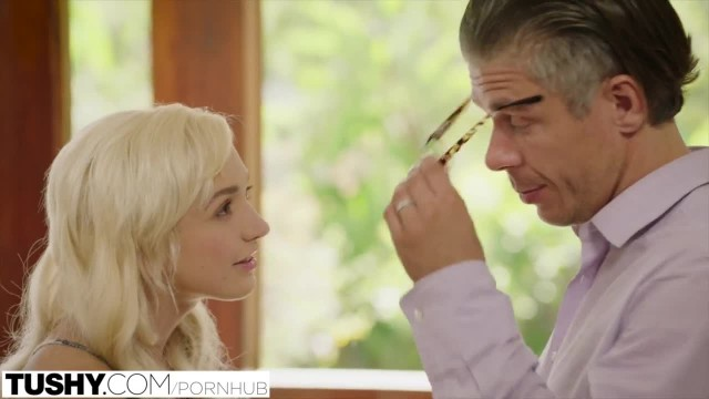 TUSHY Naughty Blonde Anal Fucked by her Therapist