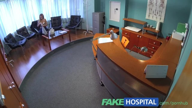 FakeHospital Horny Sexy Blonde Patient Raises the Temperature