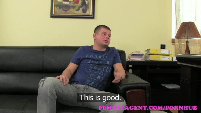 FemaleAgent. Big Boobed MILF Results in Thick Ropes of Cum