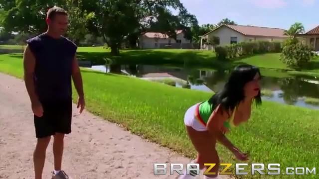 Brazzers - Mason Moore Shows off her Bocce Balls Skill