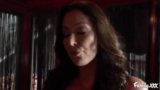 Carmen Caliente has been Begging her Stepmom for a Boob Job