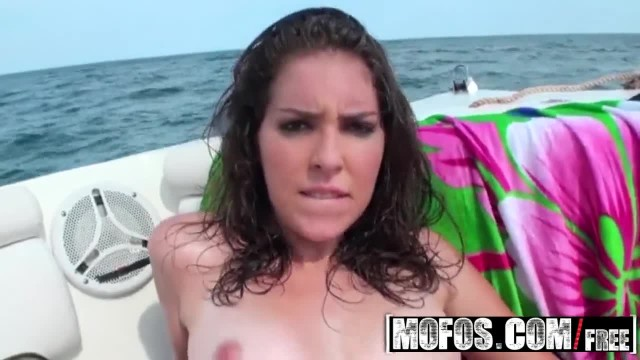 Mofos - Latina Teen Natalia has Sex in the Sea