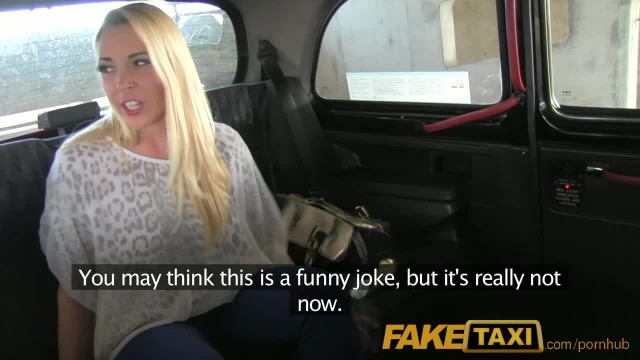 FakeTaxi Big Titty Blonde Tricked into Backseat Sex with Driver