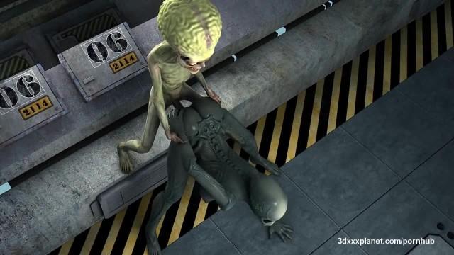 Aliens never Fucked so Good!
