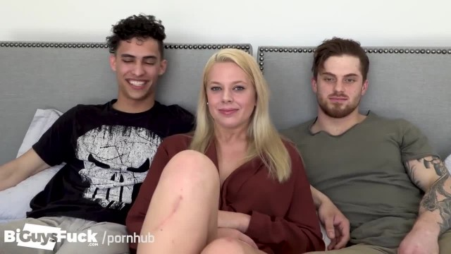 2 Horny Straight Guys Fool around for some Amazing Pussy in Exchange