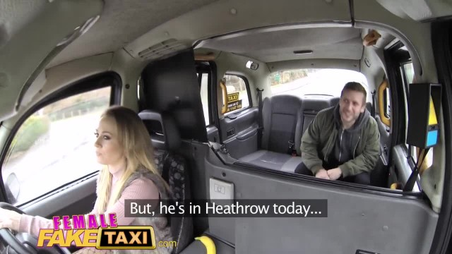 Female Fake Taxi Petite Blonde gives Great Sex Riding a Strangers Cock