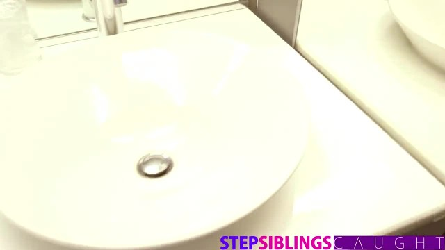 StepSiblingsCaught - Big Step Sister uses my Cock to Cum