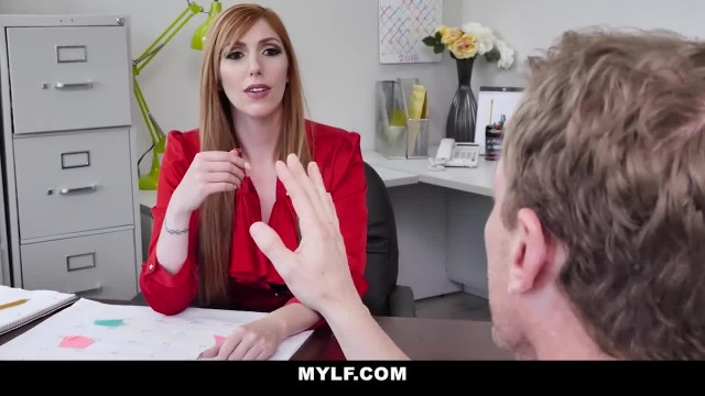 MYLF - Sexy Redhead MILF Seduces her Hot Employee