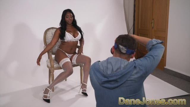 Dane Jones Black British Glamour Model Fucks Horny Big Dick Photographer