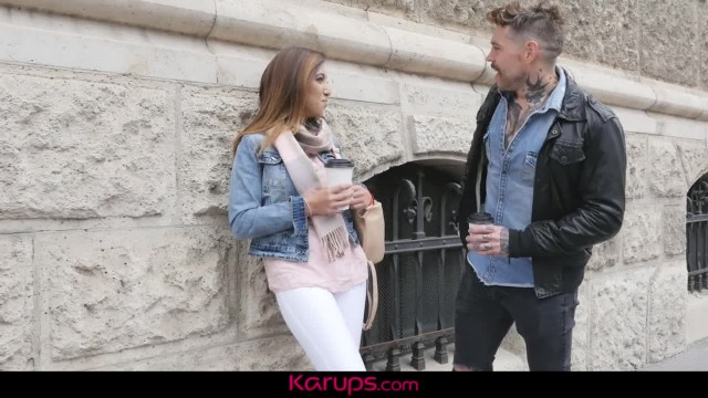 Karups - Mexican MILF Frida Sante gets first Date Dick