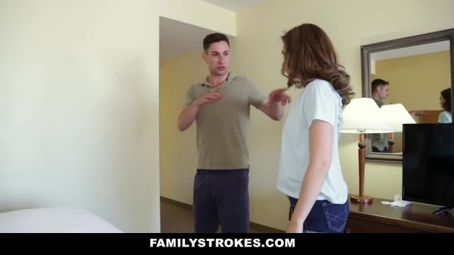 FamilyStrokes - Family Vacation Turns into Step Sibling Fucking