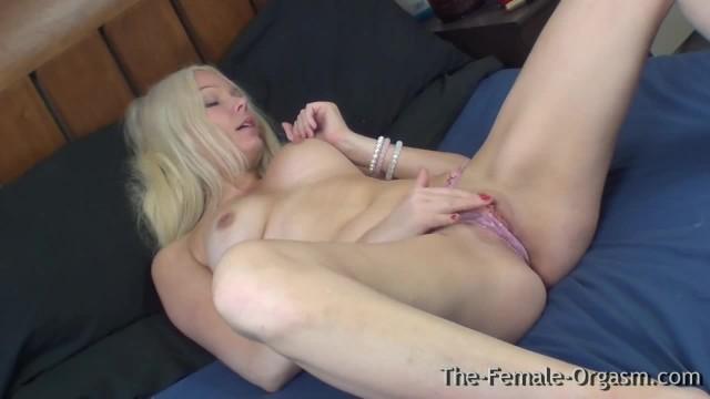 Swedish MILF Masturbating to a Sopping Wet Pussy Orgasm
