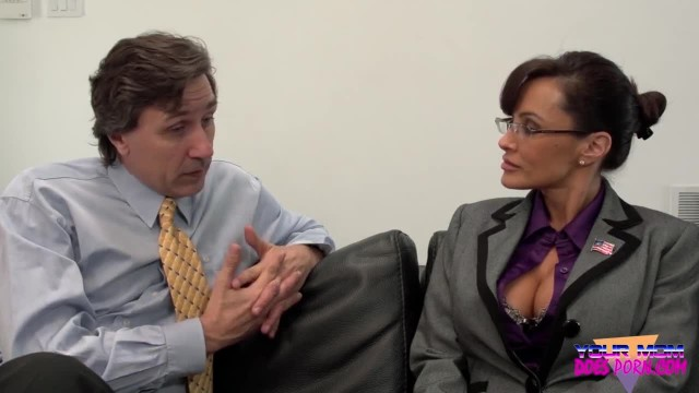 MILF LISA ANN FUCKS DURING HER JOB INTERVIEW (SARAH PALIN ROLEPLAY)