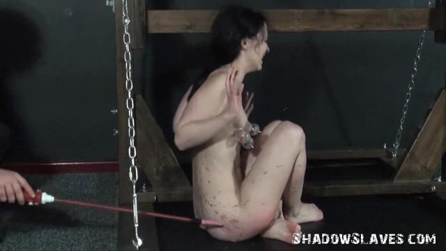 Cruel Electro BDSM of Cattle Prodded Teen Slavegirl in Shocking Pain