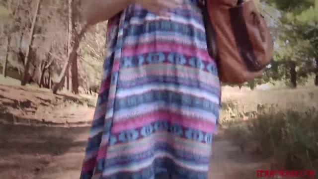 Bree Daniels Ambushed under Bridge by Rough Lesbian Oral