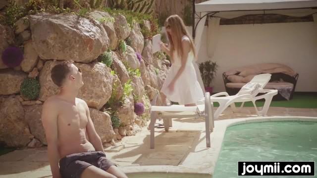 Rebecca Volpetti gets Fucked in her Micro Bikini