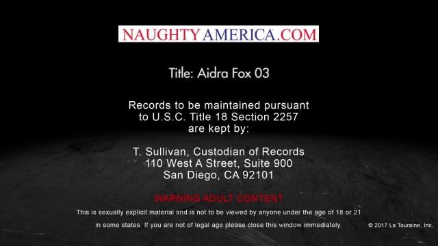 Bubble-butt Babe Aidra Fox Fucks her Friend's Brother - Naughty America