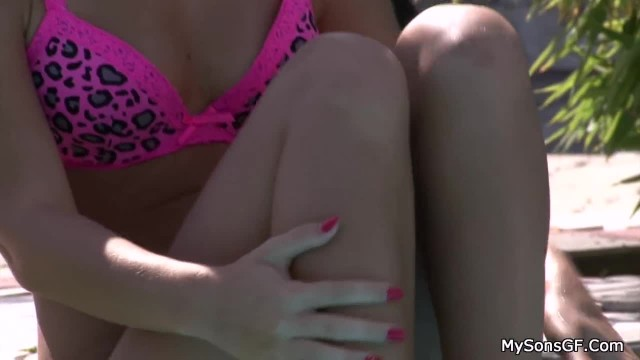 Father in Law Fucks her Outdoors