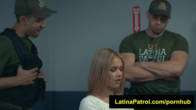 LatinaPatrol Kendall Kross Offers Hard Skull Fucking for Freedom