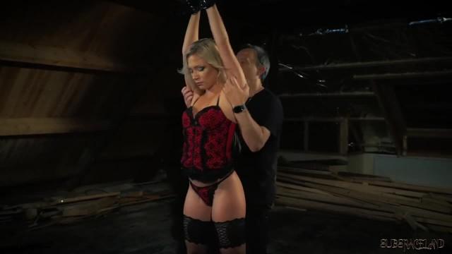 Teen Bondage Sex Slave Pleasing her Master's Whip