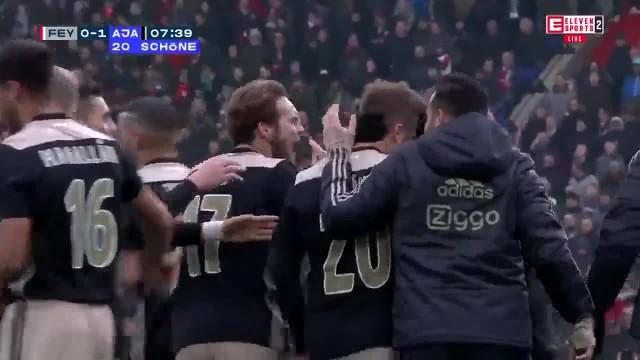 Feyenoord vs Ajax 6-2