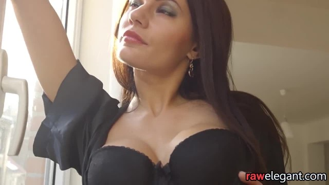 Alluring Euro Assfucked in the Kitchen