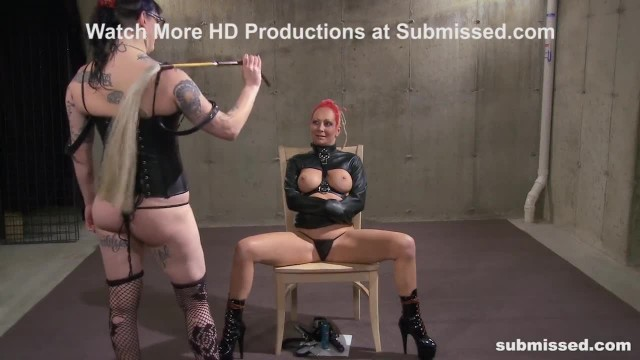 BDSM Mistress Spits and Dominates - MILF FemDom Action!