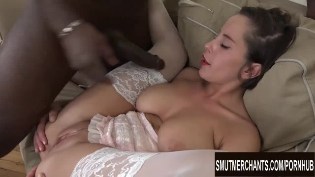 Busty Short Haired Teen Ana Bell Evans is Craving a BBC in her Asshole