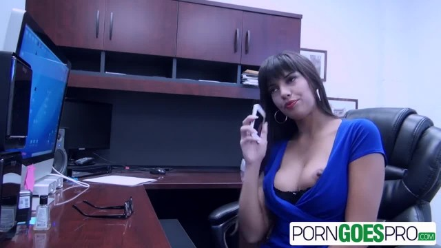 PornGoesPro - Mercedes Carrera is Fucked by a Huge Cock, Big Booty