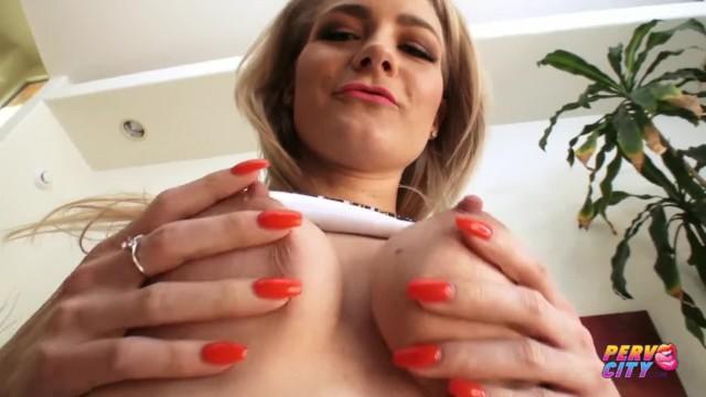 PervCity Blonde Slut Lisey Sweet Anal Creampie