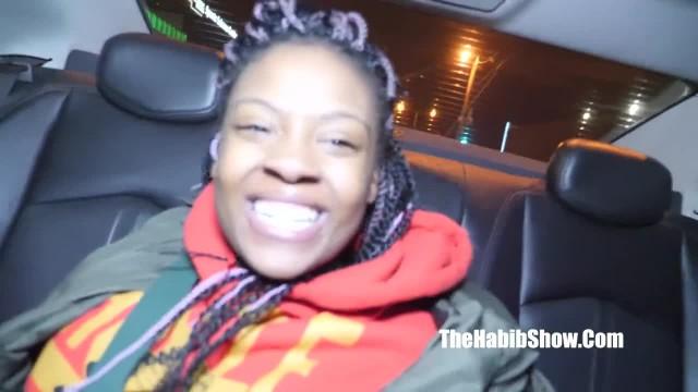 The Sexy Newbie Ebony Lashay cant Handle 6inch Dick