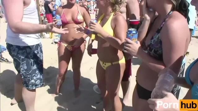 SPRING BREAK BEACH PARTY - Scene 6