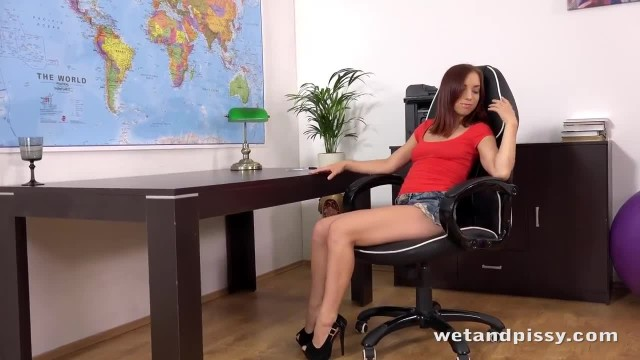 Piss Soaked Giggling Teen