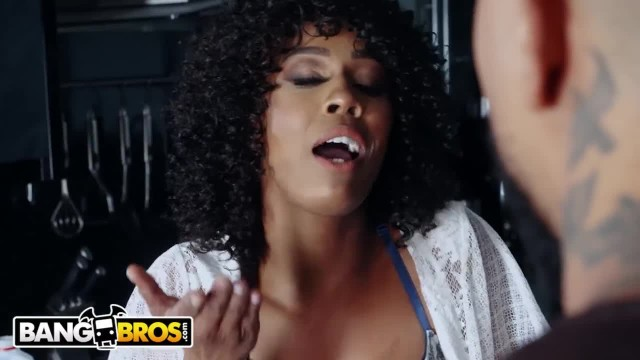 BANGBROS - Misty Stone got no Milk and she ain't Happy about it