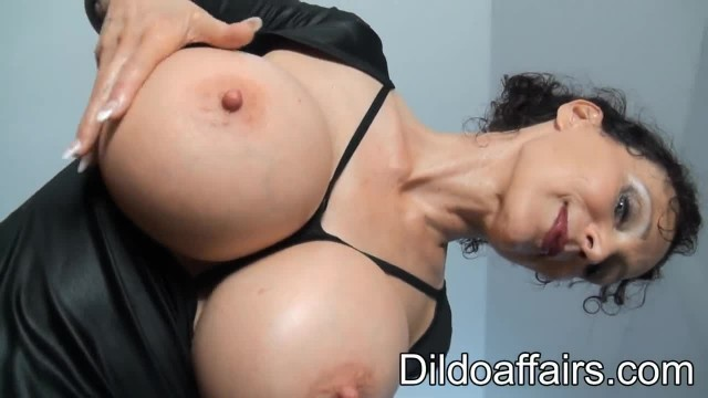 Michaela O Brilliant - Pink Double Dildo