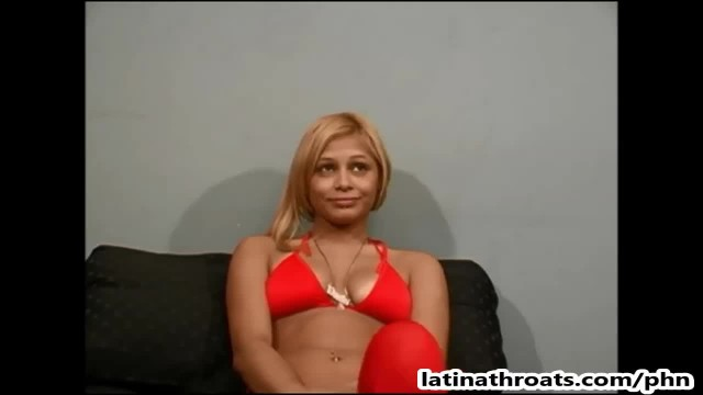 Innocent 19 Year old Latina Pearl Gags and gets Pounded