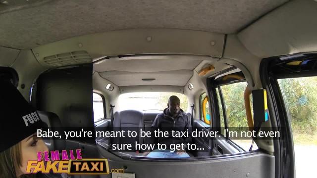 FemaleFakeTaxi Naughty Cab Driving Chick Fucks Black Cock in Countryside