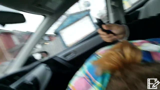 20 Dollar Hooker Blowjob in my Car. i Cum in her Mouth