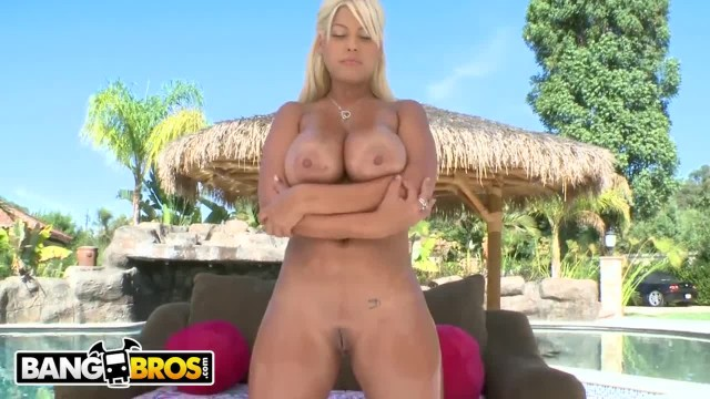 BANGBROS - Busty Blonde Latina, Bridgette B, getting her Big Ass Fucked