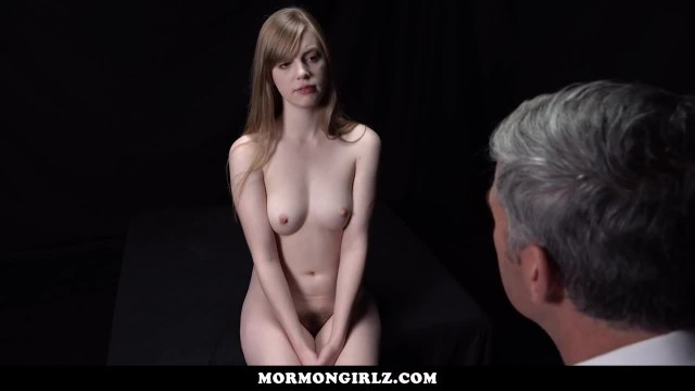 MormonGirlz-Submissive Teen gets Fucked on Desk