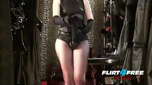 Mistress Dominates Slave with BBC