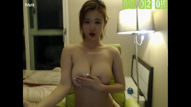 Asian Teen with Perfect Ass Stripping and Humping Pillow