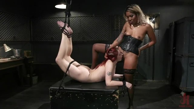 Sadistic Lotus Lain Finds A new Friend in Violet Monroe
