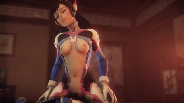 D.Va Overwatch Hot Fuck Scene